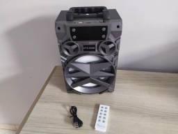 Caixa de som Big Sound KTS-909B - Bluetooth Cartão Sd Pen drive Rádio