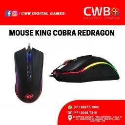 Mouse Gamer Redragon King Cobra M711- fps, um ano de garantia com NF, Loja Física.