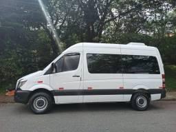Merc/Microonibus415 Sprinter K42A104B  Diesel Branca 16L 2019 Teto alto U.d 19.000km