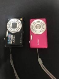 Câmeras Sony e Panasonic