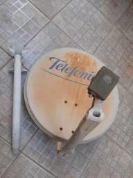 Antena + cabo coaxial 30m