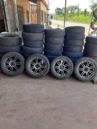 Título do anúncio: Aro17 vendo completo com os pneus 215/50/17 99116.2378