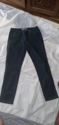 Calça jeans azul escuro EUZZY 48