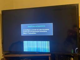 Tv Samsung smart 43 com pqno problema