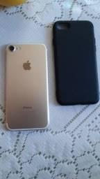 Iphone 7dourado 128gb