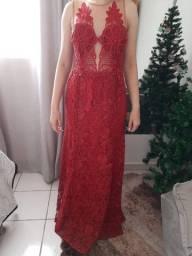 Vestido Renda Guipir