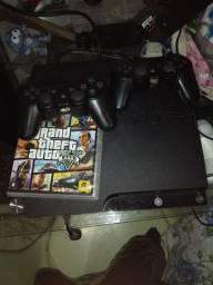 PS3 Slim + GTA V