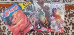 Quadrinho Marvel X-Men e Vingadores (Conservados)