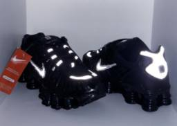 Tênis Nike Shox 12 Molas Refletivo - Importado - Made In Vietnã  - Frete Grátis Para MG!
