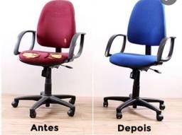 Reparo reforma e conserto de cadeiras de escritório