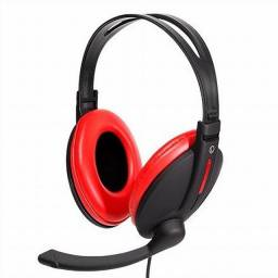 Fone Headset Gamer Bright 0206, Super Bass, Mic, P2 - Nota fiscal + 1 ano de garantia