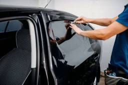 Título do anúncio: Window blue em carro popular promoção