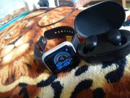 Fone bluetooth e smartwatch