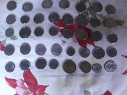 Vendo moedas raras
