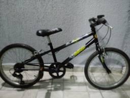 Bicicleta aro 20 com marcha