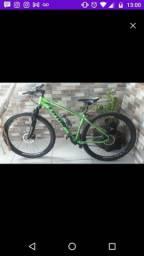 Vendo bicicleta seminova Chimano