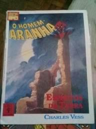 Homem Aranha - Marvel - Graphic Novel - Espíritos da Terra - Editora Abril 1990