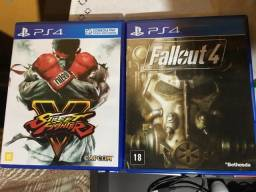 Fallout 4 + Street fighter V PS4