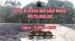 More no SãoBraz #75milÀVista #Terrenos! @Ligue:9 9814-4355 (whats!)