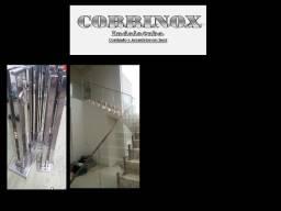 Inox Corrimão Torre/ Pinça