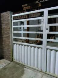 Portao de garagem e portão individual