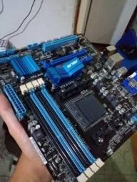Placa mãe Asus M5A78L-M Usb3 Série AMD