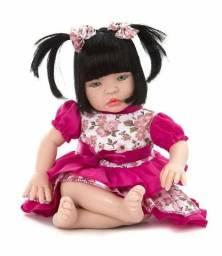 Boneca Bebê Tipo Reborn Chora e Balbucia