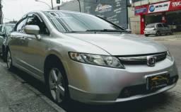 Honda Civic Lxs 1.8 Flex 2007 - 2007