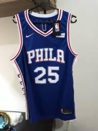 Camiseta regata basquete NBA Philadelphia 76ers Bem Simmons d51904b6031a3