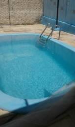 Casa em pitangui com 3 quartos, piscina, mobiliada