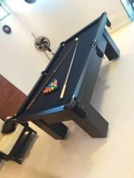 Mesa de Caçapa de Rede Cor Preta Tecido Preto Mod. NWUB2118