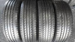 4 pneus Goodyear Efficient Grip, 215/60/17. SEMINOVOS