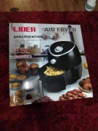 Air fryer, torradeira e espremedor