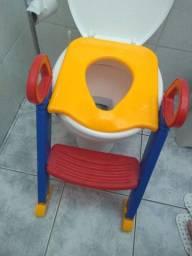 Assento infantil, redutor e escada