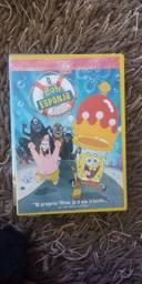 Dvd Bob Esponja o Filme com encarte
