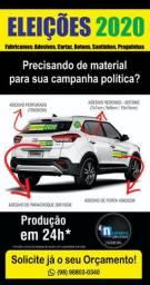 CAMPANHA POLÍTICA É AQUI