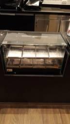 Estufa Quente para Salgados, 220v, 8 bandejas