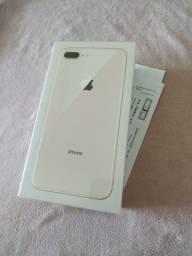 IPhone 8 Plus 128GB Gold lacrado com Nota