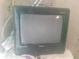 Televisão conversor antena