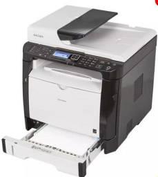 Multifuncional, impressora, scanner e copiadora