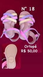 (Desapego)Sandálias usadas poucas vezes n°17
