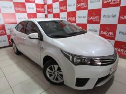 Toyota Corolla GLI 1.8 CVT só DF, revisões em dia, banco de couro, branco pérola. Confira!