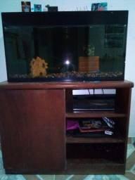 Aquario 220 L. completo