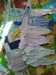 Lote de roupas 0 a 3 meses