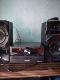 Som Panasonic CD Stereo System