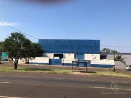 Barracão para alugar, 938 m² - Jardim Tarobá - Cambé/PR