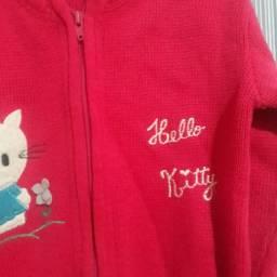 Blusa de lã Hello Kitty. Tam 8