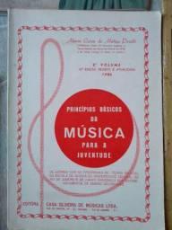 Livros para estudo de música