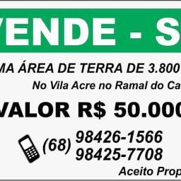 Área de terra no Vila Acre.