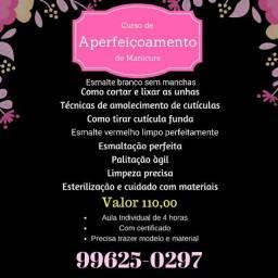Curso de aperfeiçoamento para manicures Curitiba capão raso